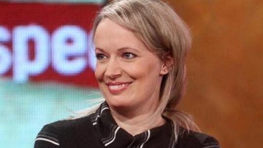 Alena Antalová předvedla nový účes a šťastnou tvář.