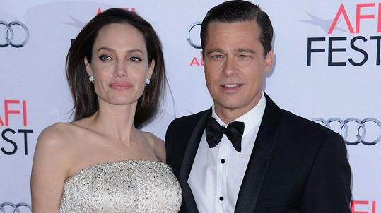 Angelinu Jolie a Brada Pitta čeká rozvodová bitva...