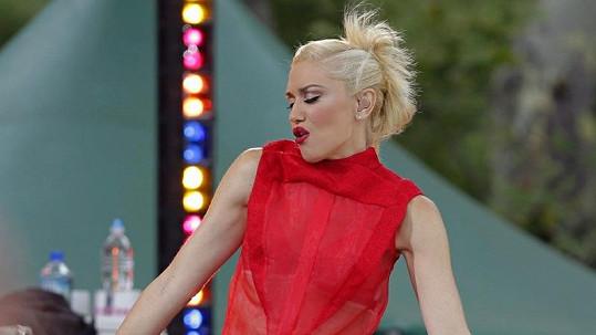 Gwen si vystoupení v Central Parku užívala.