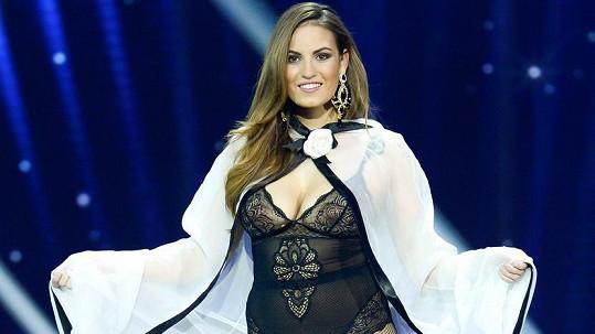Dominika Dávidová zaujala na Miss Slovensko...