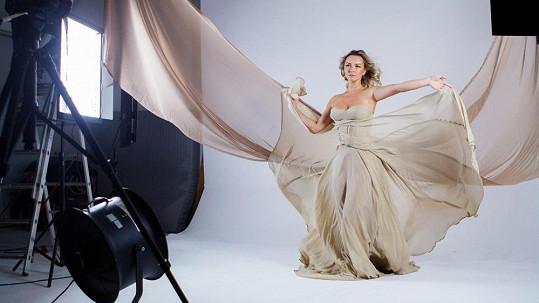 Verona natáčela svůj nový klip k písni Láskoproud.