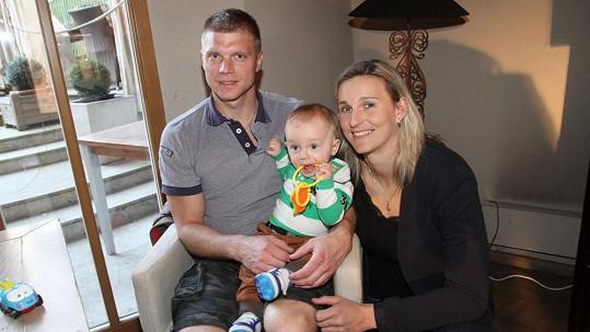 Bára Špotáková a její rodina
