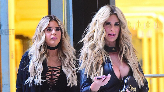 Kim Zolciak s dcerou Brielle