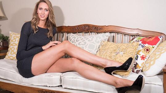 Modelka získává díky svým nekonečným končetinám zajímavé pracovní nabídky.
