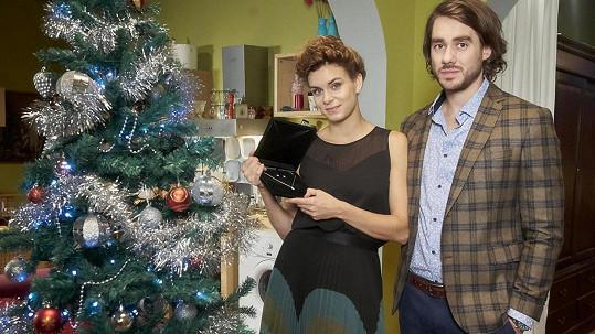 Markéta a Patrik Děrgelovi už mají na Vánoce natrénováno.