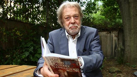 Jan Kanyza se stal kmotrem knihy Zdeňka Červenky Nové příběhy důchodce v Languedoku.