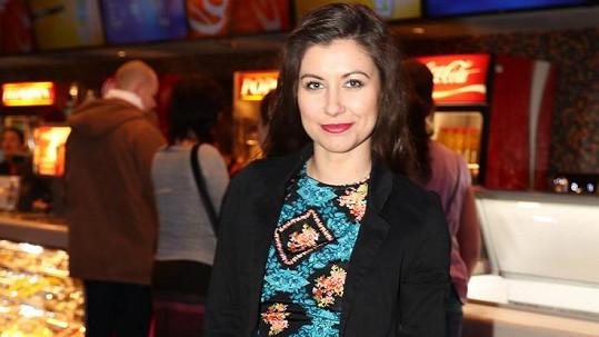 Veronika Lálová na premiéře filmu Pirko