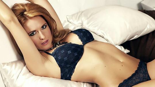 Romana Pavelková se předvedla v sexy prádle.