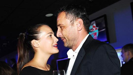 Kateřina Sokolová s expřítelem Robertem