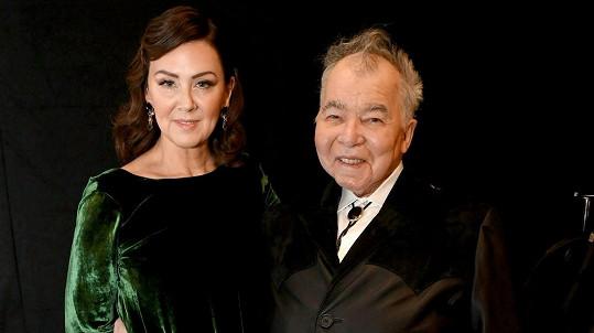 John Prine s manželkou Fionou