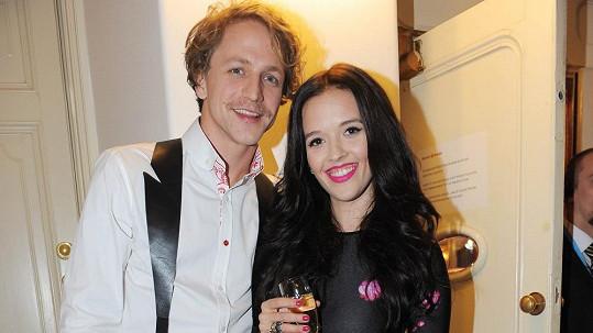 Tomáš Klus s manželkou Tamarou.