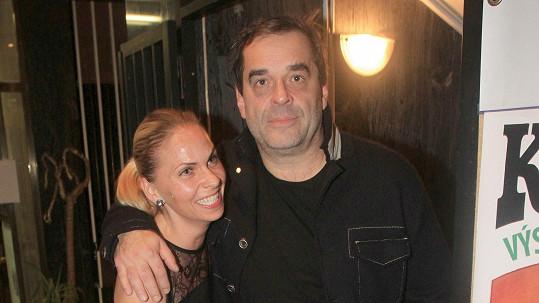 Miroslav Etzler s přítelkyní Helenou Bartalošovou