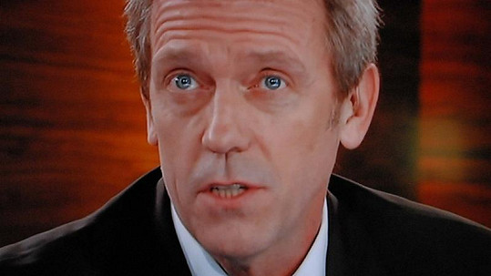 Hugh Laurie alias doktor House.