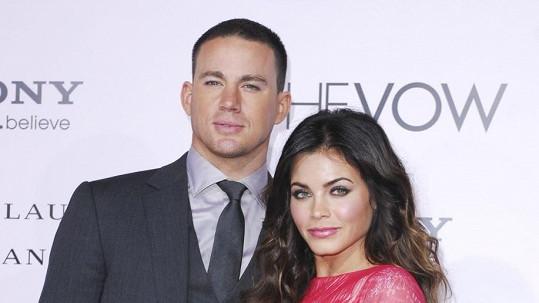 Channing Tatum s manželkou.