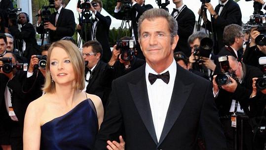 Jodie s Melem na festivalu v Cannes.