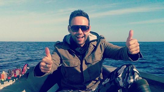 Michael Foret nabírá síly na dovolené v Norsku.