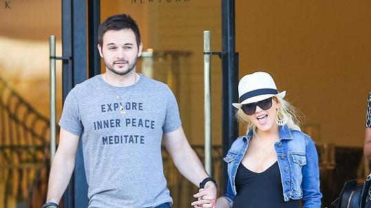 Christina si Matta Rutlera hodlá vzít koncem roku.