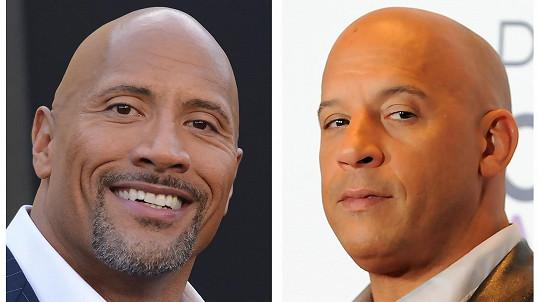 Dwayne Johnson a Vin Diesel se dostali do křížku.