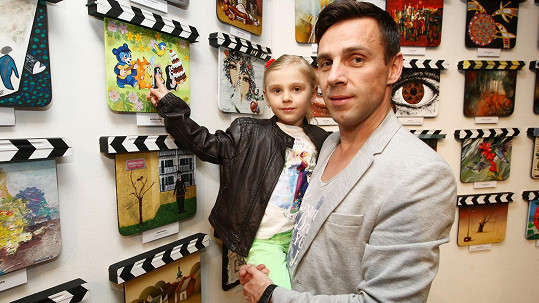 Roman Vojtek s dcerou Editkou