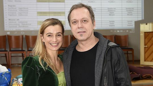 Ivana s bývalým manželem Viktorem Dykem