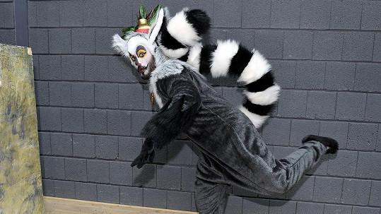 Noid jako lemur král Jelimán
