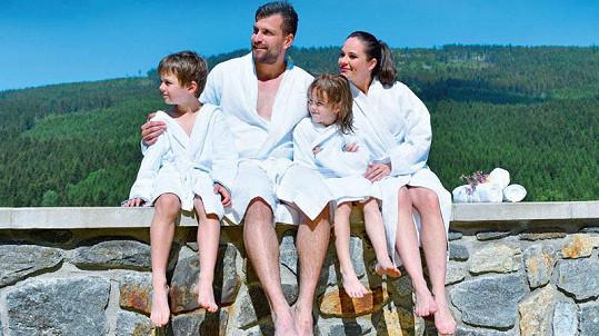 Pohodová rodinná dovolená na horách ve Wellness hotelu Vista