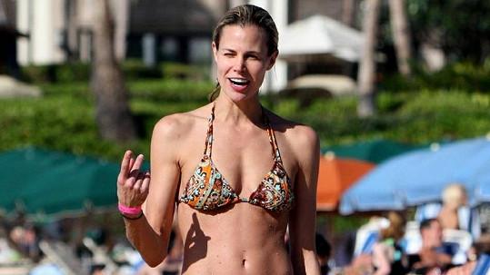 Brooke Burns na Havaji.