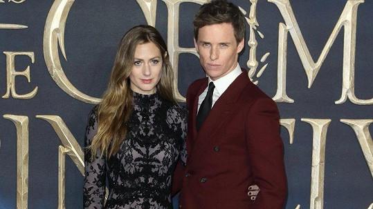Eddie Redmayne s manželkou Hannah Bagshawe