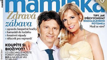 Jan Šťastný s manželkou Bárou Petrovou se těší na prvního společného potomka.