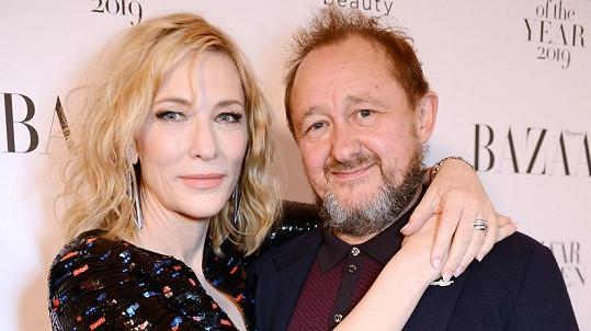 Cate Blanchett s manželem Andrewem Uptonem