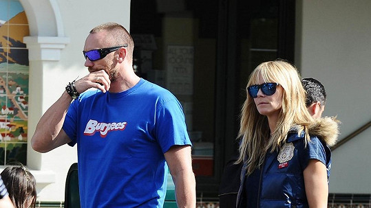 Heidi Klum aspiruje na titul matka pluku. Zde se svým partnerem Martinem Kristenem.
