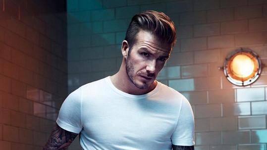David Beckham není takový drsňák, jak se zdá.