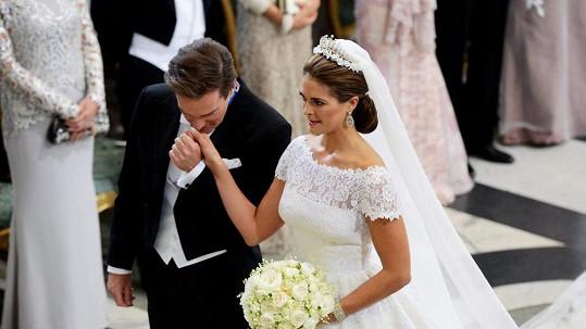 Princezna Madeleine a Christopher O´Neill si řekli své Ano.
