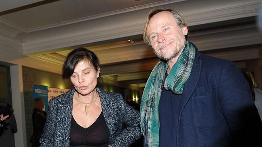 Karel Roden s Janou Krausovou.