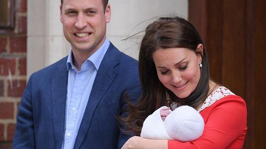 William a Kate mají třetího potomka.