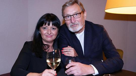Partnerka Ladislava Freje překonala těžkou nemoc.