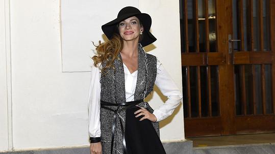 Andrea Verešová opět vyzkoušela herectví.