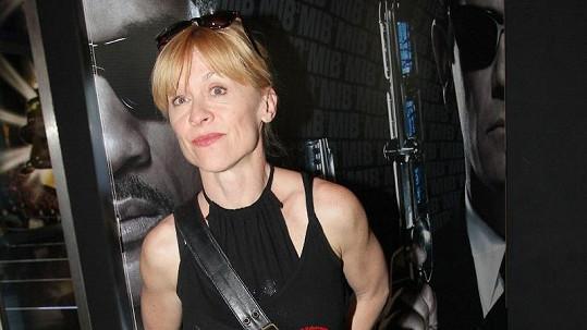 Dana Batulková a její Rambo ruce.