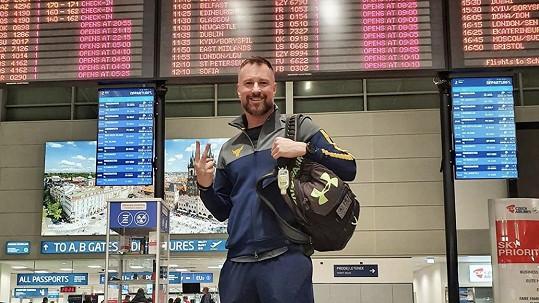 Petr Vágner odletěl do USA těsně před zákazem.