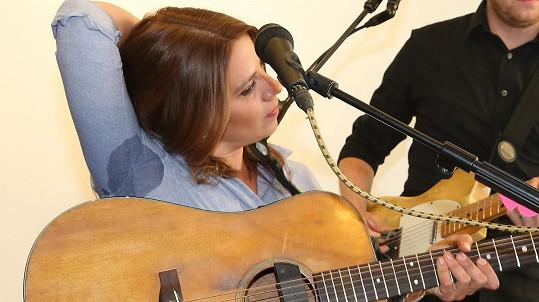 Aneta Langerová křtila vinyl.