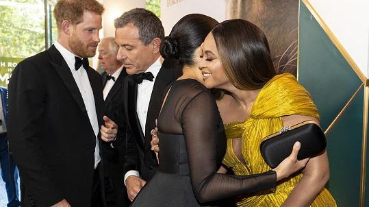 Meghan a Harry se na premiéře setkali s Beyoncé a Jayem-Z.
