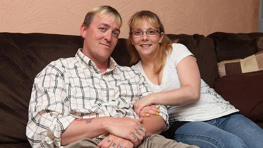 Dale Decker s manželkou April