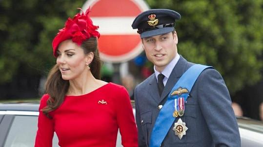 Okouzlující pár William a Catherine.