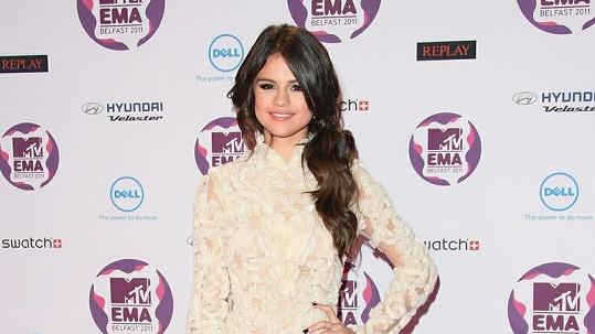 Selena Gomez nepatřila u spolužáků k oblíbeným.