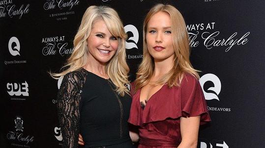 Sailor Brinkley-Cook se slavnou matkou Christie Brinkley