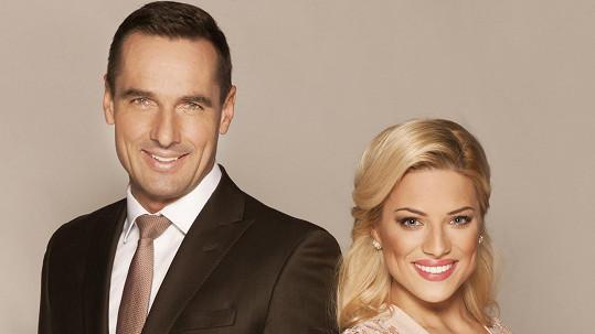 Eva a Roman tvoří novou moderátorskou dvojici...