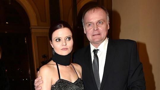 Igor Bareš s partnerkou Antonií Talackovou