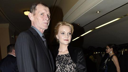 Jiří Schmitzer s dcerou Kristýnou