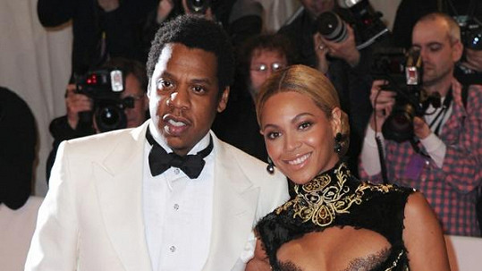 Beyoncé a její manžel Jay-Z.