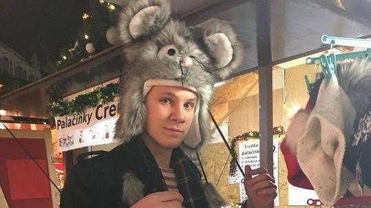 Zdeněk Piškula vyrazil na vánoční trh.